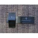 Black satin foldable labels 50x250mm (1000 pcs.)