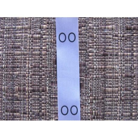Satininės sukarpytos lenkiamos 15x40 mm dydžių etiketės (100vnt.)