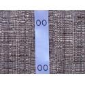 Satin folding size labels 15x40 mm (100 pcs.)