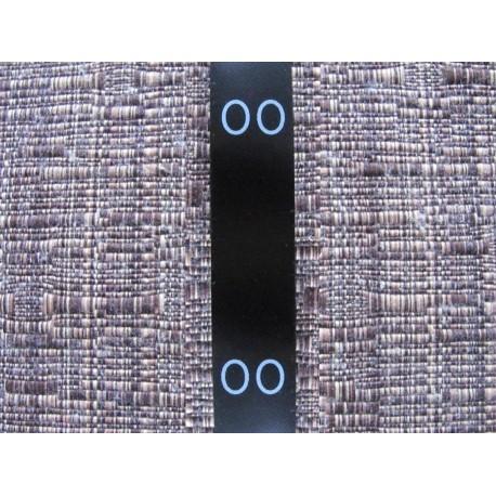 Juodos satininės sukarpytos lenkiamos 15x40 mm dydžių etiketės (100vnt.)