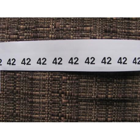 Size labels 10x20 mm (100 pcs.)