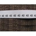 Dydžio etiketės 10x20 mm (1000vnt.)