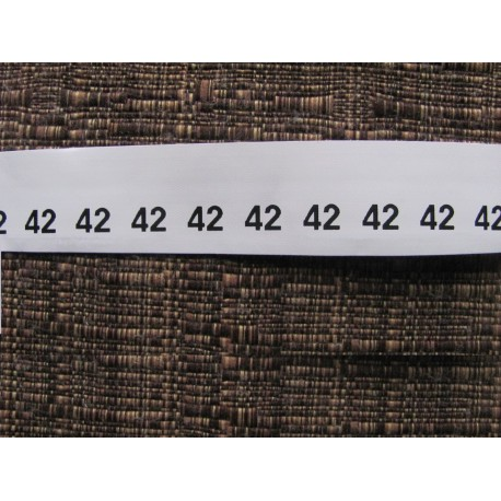 Size labels 10x20 mm (100 pcs.)