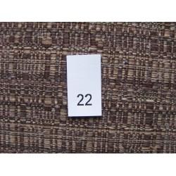 Dydžio etiketės 13x25 mm (100vnt.)