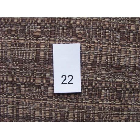 Size labels 13x25 mm (100 pcs.)