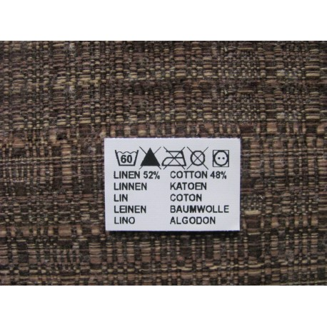 Adhesive nylon labels