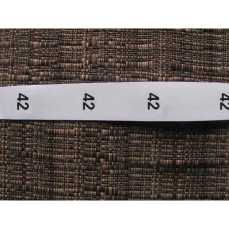 Size labels 15x20 mm (100 pcs.)