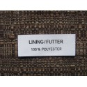 Adhesive satin labels 30x15mm (100 pcs.)