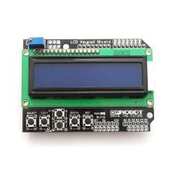 2x16 LCD ir klaviatūros modulis