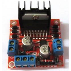 Variklių valdymo modulis (2x H-bridge)