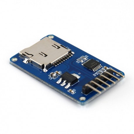 microSD atminties kortelės modulis