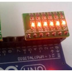 6 LED modulis