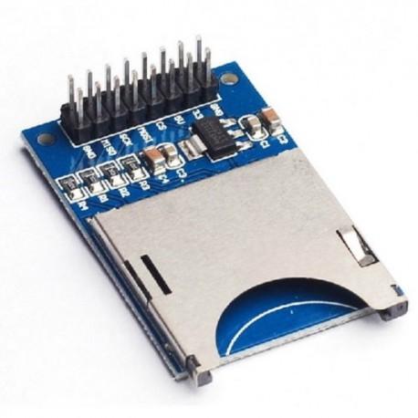 SD atminties kortelės modulis