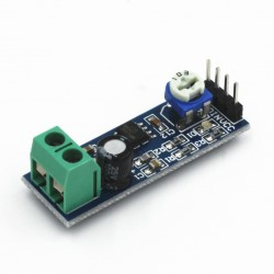 Audio stiprintuvo modulis su LM386