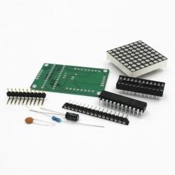 8x8 LED matricos su valdikliu komplektas