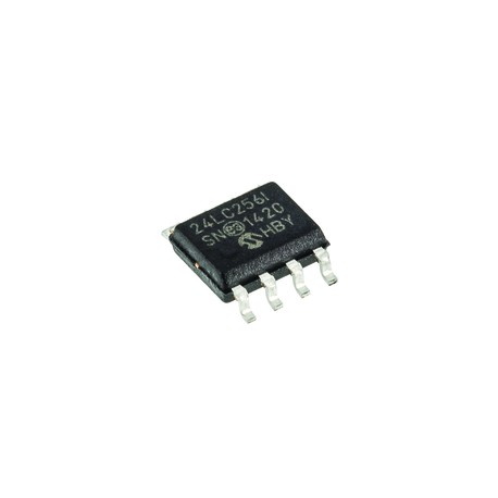 24CL256 EEPROM atmintis