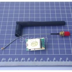 2,4GHz didelio atstumo bevielės komunikacijos modulis