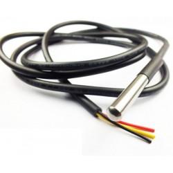 18B20 temperatūros jutiklis su kabeliu