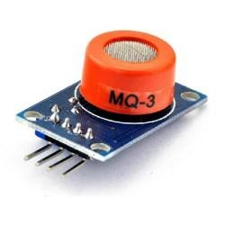 Alkoholio detektoriaus modulis