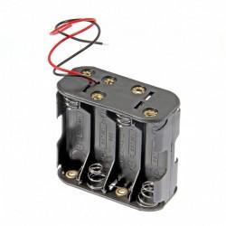 8x AA baterijų laikiklis