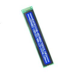 2x40 simbolių LCD modulis su mėlynu pašvietimu