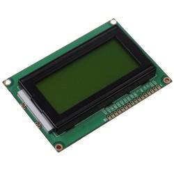 4x16 simbolių LCD modulis su geltonu pašvietimu