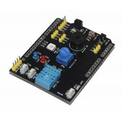 Multifunkcinė jutiklių plokštė DHT11, LM35, RGB, LED, IR, FOTO, BUZZER