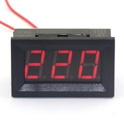 Skaitmeninis AC voltmetras 70-500V