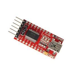 RS232 UART TTL konverteris su FT232RL (USB)