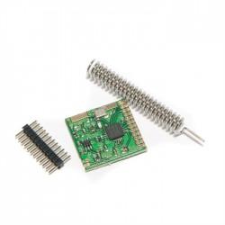 433MHz siųstuvas/imtuvas SI4432 su antena 1000m