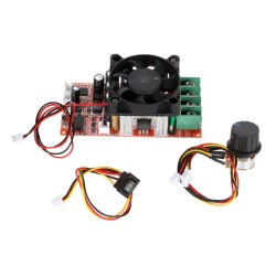 H-bridge tipo (dvikryptis) PWM signalo generatorius 9-50V 30A 1400W