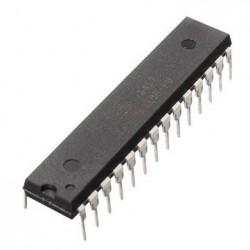 ATmega328P-PU mikroschema su Arduino bootloader