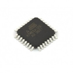 ATmega328P-AU mikroschema be Arduino bootloader