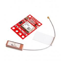Ublox NEO-6M mažas GPS modulis