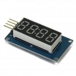 4 skaitmenų indikatoriaus modulis su TM1637