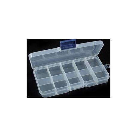PP dėžutė rinkiniams 130x67x22 mm
