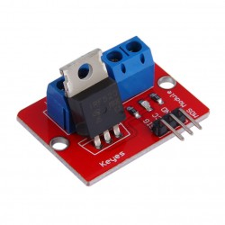 IRF520 tranzistoriaus modulis
