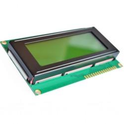 4x20 simbolių LCD modulis su geltonu pašvietimu