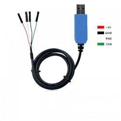 RS232 UART TTL konverteris su PL2303 (USB)