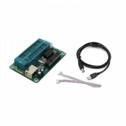 PIC K150 ICSP+ZIF programatorius