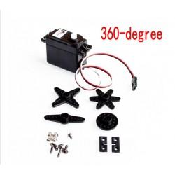 Servo variklis DS04-NFC (pastovaus sukimosi)