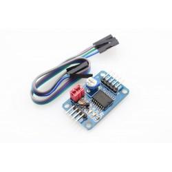 ADC (4x8bit) + DAC + pot + foto + termistoriaus I2C modulis su PCF8591