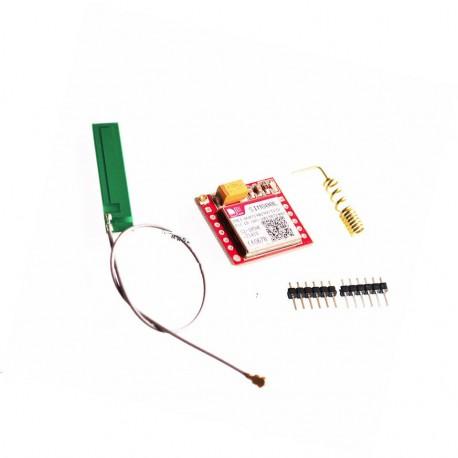 GSM GPRS modulis SIM800L mini su PCB antena