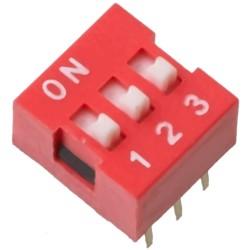 DIP mini jungiklių blokas 3j