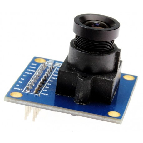 OV7670 VGA kamera su lęšiu