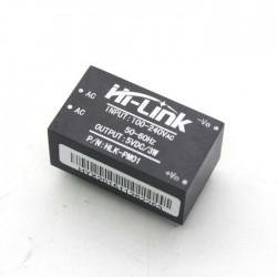 AC-DC step-down 5V maitinimo šaltinis 3W (iš 230V) HLK-PM01