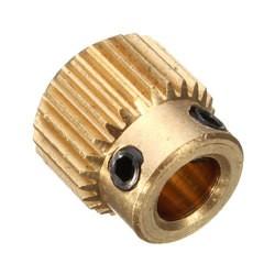 Variklio ašies 26 dantų krumpliaratis 5 mm (tinka Nema17)