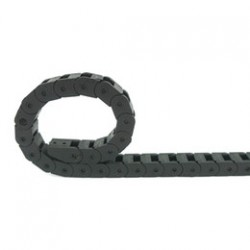 Apsauginė plastikinė grandinė kabeliui 10x10 mm (1m)