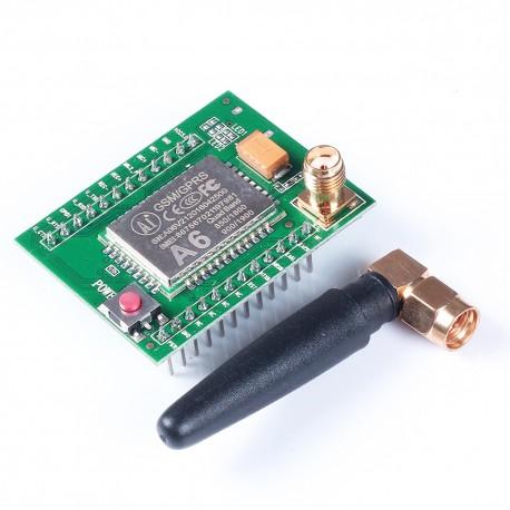 GSM GPRS modulis A6 su antena