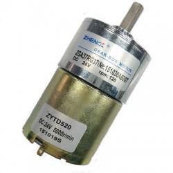 DC variklis su reduktoriumi ZGA37RG 12V 20rpm